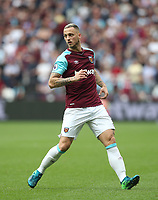West Ham United's Marko Arnautovic<br /> <br /> Photographer Rob Newell/CameraSport<br /> <br /> The Premier League - West Ham United v Everton - Sunday 13th May 2018 - London Stadium - London<br /> <br /> World Copyright &copy; 2018 CameraSport. All rights reserved. 43 Linden Ave. Countesthorpe. Leicester. England. LE8 5PG - Tel: +44 (0) 116 277 4147 - admin@camerasport.com - www.camerasport.com