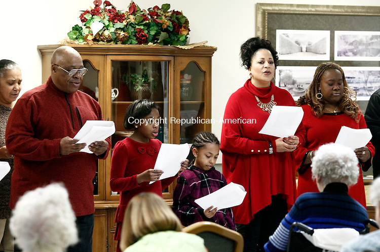 Waterbury CT 20 December 2014 122014CM02 Members From The Community Tabernacle Outreach
