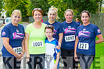 Karen Farrell Keel, Siobhain and Darragh lynch Tralee, Siobhain farrell Keel, Fiona O'Leary Beaufort and Agreda Lyons Cork on the run at the Killarney Women's mini marathon on Saturday