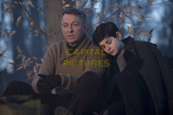 Sean Pertwee, David Mazouz<br /> in Gotham (2014&ndash; ) <br /> (Season 1)<br /> *Filmstill - Editorial Use Only*<br /> CAP/FB<br /> Image supplied by Capital Pictures