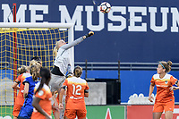 Frisco, TX - Sunday September 03, 2017: Jane Campbell during a regular season National Women's Soccer League (NWSL) match between the Houston Dash and the Seattle Reign FC at Toyota Stadium in Frisco Texas. The match was moved to Toyota Stadium in Frisco Texas due to Hurricane Harvey hitting Houston Texas.