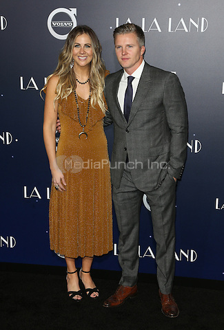 "Westwood, CA - DECEMBER 06: Rachel Smith, Trent Luckinbill, At Premiere Of Lionsgate's ""La La Land"" At Mann Village Theatre, California on December 06, 2016. Credit: Faye Sadou/MediaPunch"
