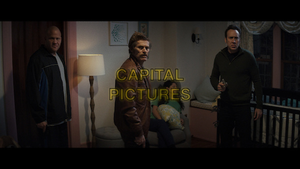 Dog Eat Dog (2016)<br /> Paul Schrader, Willem Dafoe, Nicolas Cage<br /> *Filmstill - Editorial Use Only*<br /> CAP/KFS<br /> Image supplied by Capital Pictures