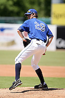 June 14th 2008:  Andrew Hess of the West Michigan Whitecaps, Class-A affiliate of the Detroit Tigers, during a game at Fifth Third Ballpark in Comstock Park, MI.  Photo by:  Mike Janes/Four Seam Images