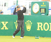 Bernhard Langer during the final day of The Senior British Open Presented by Rolex: The Senior British Open is being played over the Ailsa Course at Turnberry, Ayrshire, Scotland from 26th to 29th July 2012: Picture Stuart Adams www.golftourimages.com: 29th July 2012
