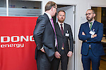 BRUSSELS - BELGIUM - 28 November 2016 -- Inauguration of the Nordic Energy Office. -- Jukka Leskelä (Leskela, Leskelae), Finnish Energy; Joona Turtiainen, Finnish Energy and Eyvind Hodne Steen, Energy Norway. -- PHOTO: Juha ROININEN / EUP-IMAGES