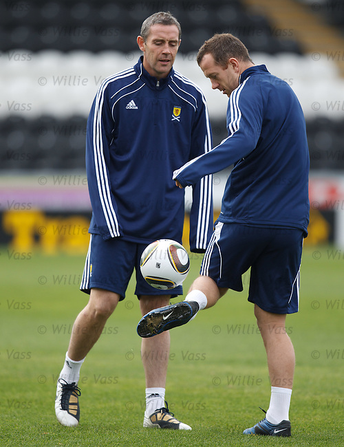 David Weir and Charlie Adam