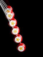 ANGULAR OR ROTATIONAL MOMENTUM OF A YO-YO<br /> Potential &amp; Kinetic Energy &amp; Newton's 3rd Law<br /> Due to its position the yo-yo has maximum potential energy at the top of its fall.  As it falls the potential energy becomes kinetic energy.  Maximum kinetic energy is reached at the bottom.