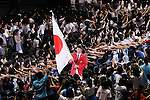 Keisuke Ushiro (JPN), <br /> JULY 3, 2016 - Olympic : <br /> Japan National Team Send-off Party <br /> for Rio 2016 Olympic Games<br /> at 1st Yoyogi Gymnasium, <br /> Tokyo, Japan. (Photo by Yohei Osada/AFLO SPORT)