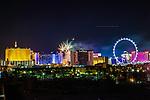 Fireworks 2019 4th July Caesars Palace