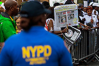 Thousands of People march against police brutality in Staten Island. 08.23.2014. Eduardo Munoz Alvarez/VIEWpress