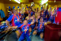 Horowhenua Kapiti celebrates winning the 2018 Heartland Championship Lochore Cup rugby final between Horowhenua Kapiti and Wairarapa Bush at Levin Domain in Levin, New Zealand on Sunday, 28 October 2018. Photo: Dave Lintott / lintottphoto.co.nz