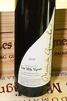 Cuvee Noir de Grenache Rivesaltes, VDN Vin Doux Naturel. Domaine les Milles Vignes. Fitou. Languedoc. France. Europe. Bottle.
