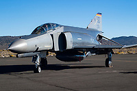 McDonnel Douglas F-4E Phantom II sits on the ramp during the 2004 Reno National Championship Air Racer at Stead Field in Nevada.