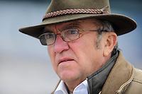 Oct. 3, 2009; Kansas City, KS, USA; NASCAR Nationwide Series team owner Jack Roush during qualifying for the Kansas Lottery 300 at Kansas Speedway. Mandatory Credit: Mark J. Rebilas-