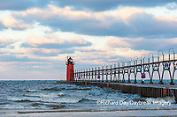 64795-02420 South Haven Lighthouse early morning South Haven,  MI