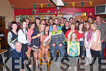 Double Celebration: Laura Collind & Peter Duffy, both from Duagh celebrating their 21st birthdays with family & friends at Christy's Well Bar , Listowel on Saturday night last.