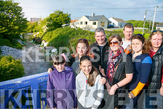 Fenit Walkway campaign. Pictured members of the Fenit Development  Association.  Isabel Moriarty, Alison Moriarty, Sinead Moriarty, Karen Moriarty, John Moriarty, Grainne O'Neill, Mike O'Neill and Nannette Moore.
