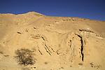 Israel, Wadi Etek in Eilat Mountains
