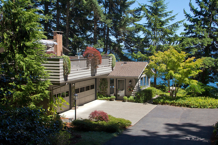 Real Estate, waterfront house on point, Brinnon, Washington, Hood Canal, Washington State, United States,