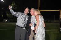 Occidental College celebrates newly inducted members of the Athletics Hall of Fame during Family Weekend & Homecoming, Oct. 16, 2015.<br />