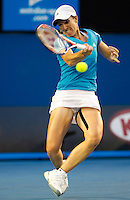 Justine Henin (BEL) against Serena Williams (USA) (1) in the Final of the Womens Singles. Williams beat Henin  .6-4 3-6 6-2..International Tennis - Australian Open Tennis - Sat 30  Jan 2010 - Melbourne Park - Melbourne - Australia ..© Frey - AMN Images, 1st Floor, Barry House, 20-22 Worple Road, London, SW19 4DH.Tel - +44 20 8947 0100.mfrey@advantagemedianet.com