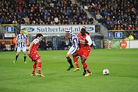 VOETBAL: HEERENVEEN: Abe Lenstra Stadion, 26-04-2013, Eredivisie 2012-2013, SC Heerenveen - AZ, Eindstand 0-4, ©foto Martin de Jong