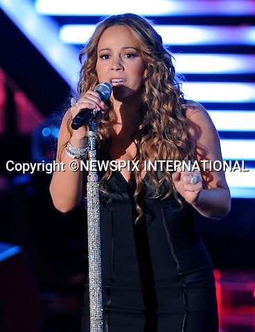"MARIAH CAREY.on the Italian version of X-Factor, Milan_11/11/2009.Mandatory Credit Photo: ©NEWSPIX INTERNATIONAL..**ALL FEES PAYABLE TO: ""NEWSPIX INTERNATIONAL""**..IMMEDIATE CONFIRMATION OF USAGE REQUIRED:.Newspix International, 31 Chinnery Hill, Bishop's Stortford, ENGLAND CM23 3PS.Tel:+441279 324672  ; Fax: +441279656877.Mobile:  07775681153.e-mail: info@newspixinternational.co.uk"