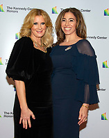 TV personality Sandra Lee, left, and Alexandra Stanton arrive for the formal Artist's Dinner honoring the recipients of the 41st Annual Kennedy Center Honors hosted by United States Deputy Secretary of State John J. Sullivan at the US Department of State in Washington, D.C. on Saturday, December 1, 2018. The 2018 honorees are: singer and actress Cher; composer and pianist Philip Glass; Country music entertainer Reba McEntire; and jazz saxophonist and composer Wayne Shorter. This year, the co-creators of Hamilton, writer and actor Lin-Manuel Miranda, director Thomas Kail, choreographer Andy Blankenbuehler, and music director Alex Lacamoire will receive a unique Kennedy Center Honors as trailblazing creators of a transformative work that defies category.<br /> CAP/MPI/RS<br /> &copy;RS/MPI/Capital Pictures
