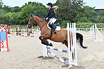 Class 5. Unaffiliated showjumping. Brook Farm Training Centre. Essex. UK. 06/07/2019. ~ MANDATORY Credit Garry Bowden/Sportinpictures - NO UNAUTHORISED USE - 07837 394578