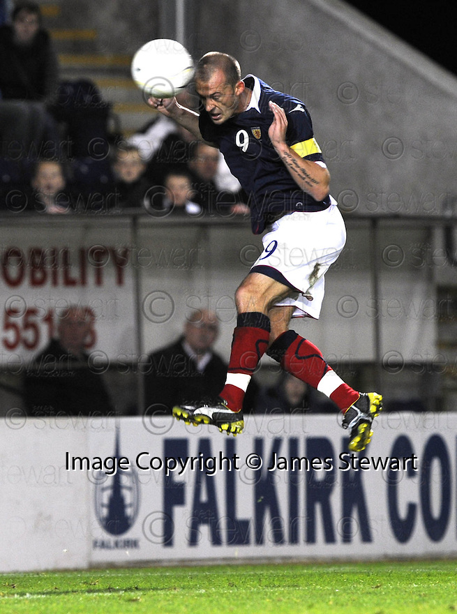 04/09/2008  Copyright Pic: James Stewart.File Name : sct_jspa11_scotland_v_slovenia.STEVEN FLETCHER SCORES SCOTLAND'S THIRD.James Stewart Photo Agency 19 Carronlea Drive, Falkirk. FK2 8DN      Vat Reg No. 607 6932 25.James Stewart Photo Agency 19 Carronlea Drive, Falkirk. FK2 8DN      Vat Reg No. 607 6932 25.Studio      : +44 (0)1324 611191 .Mobile      : +44 (0)7721 416997.E-mail  :  jim@jspa.co.uk.If you require further information then contact Jim Stewart on any of the numbers above........