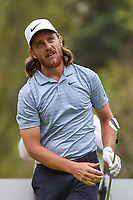 Tommy Fleetwood (ENG) watches his tee shot on 18 during round 4 of the World Golf Championships, Mexico, Club De Golf Chapultepec, Mexico City, Mexico. 2/24/2019.<br /> Picture: Golffile | Ken Murray<br /> <br /> <br /> All photo usage must carry mandatory copyright credit (© Golffile | Ken Murray)