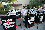 The Tahoe Dance Band performs during the 20th Taste of Downtown, which is put on by the Advocates to End Domestic Violence, in Carson City, Nev., on Saturday June 15, 2013.<br /> (Photo by Kevin Clifford/Nevada Photo Source)