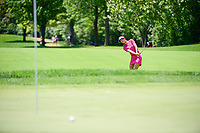 Michelle Wie (USA) attempts to chip inside of Lydia Ko (NZL)  on 1 during Saturday's round 3 of the 2017 KPMG Women's PGA Championship, at Olympia Fields Country Club, Olympia Fields, Illinois. 7/1/2017.<br /> Picture: Golffile | Ken Murray<br /> <br /> <br /> All photo usage must carry mandatory copyright credit (&copy; Golffile | Ken Murray)
