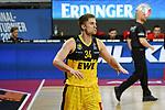 Ian Hummer (EWE Baskets Oldenburg) freut sich ueber einen Korb, EWE Baskets Oldenburg vs. Brose Bamberg, easycredit Basketball-Bundesliga, Viertelfinal Rueckspiel, 20.06.2020. nph0001 Foto: Eibner/Memmler/Pool/nordphoto