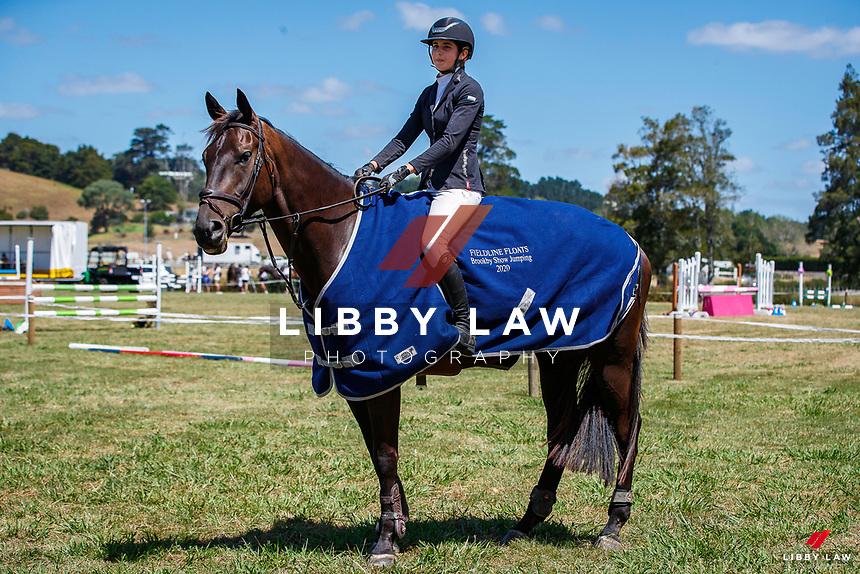 Class 27 Dynavyte NZ Horse 1.10m. 2020 NZL-Fieldline Horse Floats Brookby Showjumping Summer GP Show. Papatoetoe Pony Club. Auckland. Sunday 9 February. Copyright Photo: Libby Law Photography