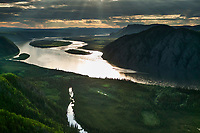 Yukon River, interior Alaska, between the towns of Circle and Eagle.
