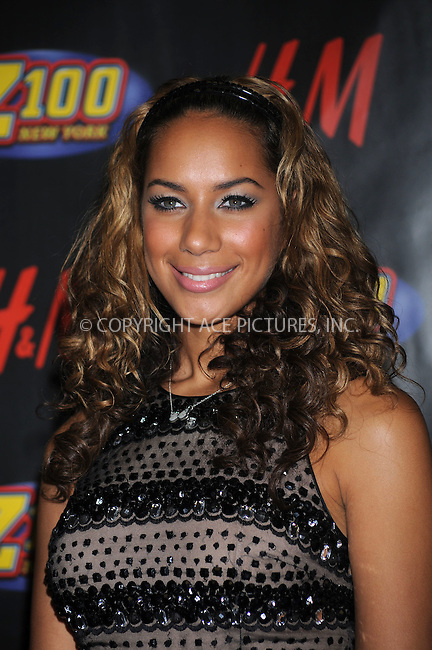 WWW.ACEPIXS.COM . . . . . ....December 12 2008, New York City....Singer Leona Lewis in the press room at Z100's Jingle Ball at Madison Square Garden on December 12, 2008 in New York City.....Please byline: KRISTIN CALLAHAN - ACEPIXS.COM.. . . . . . ..Ace Pictures, Inc:  ..tel: (212) 243 8787 or (646) 769 0430..e-mail: info@acepixs.com..web: http://www.acepixs.com