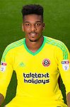 Jamal Blackman of Sheffield Utd during the 2017/18 Photocall at Bramall Lane Stadium, Sheffield. Picture date 7th September 2017. Picture credit should read: Sportimage