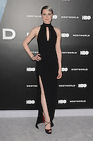 HOLLYWOOD, CA - SEPTEMBER 28: Evan Rachel Wood at the premiere of HBO's 'Westworld' at TCL Chinese Theatre on September 28, 2016 in Hollywood, California. Credit: David Edwards/MediaPunch