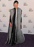 NEW YORK CITY, NY, USA - SEPTEMBER 23: Amy Fine Collins arrives at the New York City Ballet 2014 Fall Gala held at the David H. Koch Theatre at Lincoln Center on September 23, 2014 in New York City, New York, United States. (Photo by Celebrity Monitor)