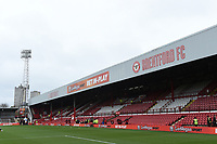 A general view of Griffin Park, home of Brentford FC <br /> <br /> Photographer Jonathan Hobley/CameraSport<br /> <br /> The EFL Sky Bet Championship - Brentford v Preston North End - Saturday 10th February 2018 - Griffin Park - Brentford<br /> <br /> World Copyright &copy; 2018 CameraSport. All rights reserved. 43 Linden Ave. Countesthorpe. Leicester. England. LE8 5PG - Tel: +44 (0) 116 277 4147 - admin@camerasport.com - www.camerasport.com