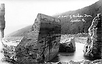 Broken dam, Austin, PA Nov. 1911 by Florence Rice.