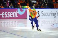 SCHAATSEN: HEERENVEEN: Thialf, Essent ISU World Cup, 02-03-2012, 500m Men, Jesper Hospes (NED), ©foto: Martin de Jong