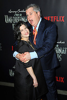 www.acepixs.com<br /> January 11, 2017  New York City<br /> <br /> Daniel Handler attending Netflix&rsquo;s world premiere of Lemony Snicket&rsquo;s 'A Series of Unfortunate Events' at AMC Lincoln Square on January 11, 2017 in New York City.<br /> <br /> <br /> Credit: Kristin Callahan/ACE Pictures<br /> <br /> <br /> Tel: 646 769 0430<br /> Email: info@acepixs.com