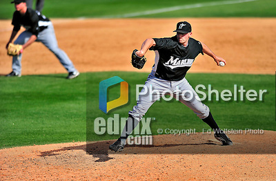 8 March 2010: Florida Marlins' pitcher Taylor Tankersley in action during a Spring Training game against the Washington Nationals at Space Coast Stadium in Viera, Florida. The Marlins defeated the Nationals 12-2 in Grapefruit League action. Mandatory Credit: Ed Wolfstein Photo