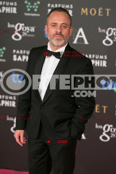 Javier Gutierrez attend the 2015 Goya Awards at Auditorium Hotel, Madrid,  Spain. February 07, 2015.(ALTERPHOTOS/)Carlos Dafonte) /NORTEphoto.com