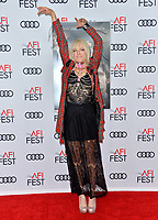 """LOS ANGELES, USA. November 20, 2019: Kate Crash at the gala screening for """"The Aeronauts"""" as part of the AFI Fest 2019 at the TCL Chinese Theatre.<br /> Picture: Paul Smith/Featureflash"""