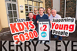 The KDYS are appealing for the public to support them this Christmas with their annual fund-raising efforts to help young people across Kerry. <br /> Front L-R Tim O'Donoghue, Des Bailey and John Adams. <br /> Back L-R Daire O'Brien and Assumpta Sweeney.