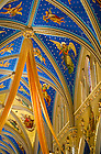 Apr. 11, 2012; Ceiling of the Basilica of the Sacred Heart with Easter season adornment...Photo by Matt Cashore/University of Notre Dame